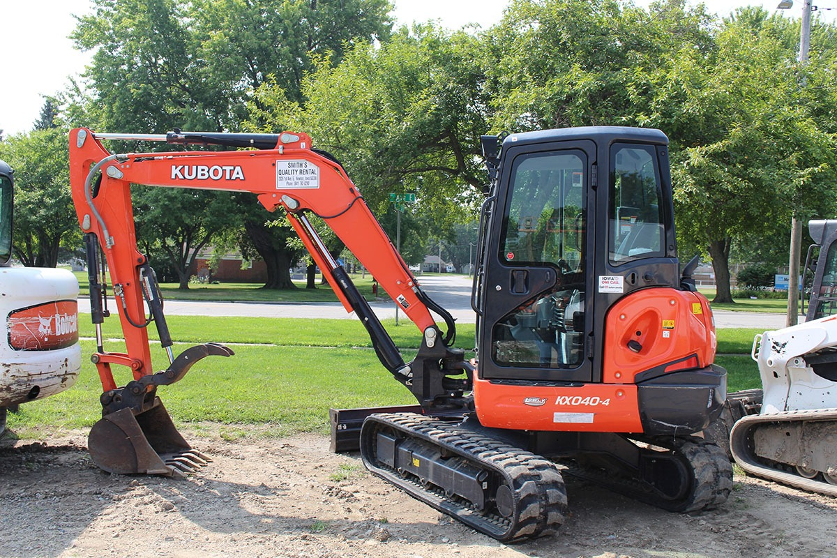 Kubota Earth Mover